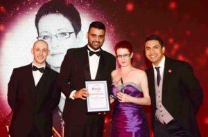 Kirsty Davies Chinnock businesswoman of the year