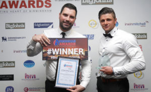 Spearhead Compliance training Business of the Year
